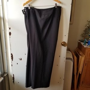 Raphael's Curvy Fit Black Dress Pants